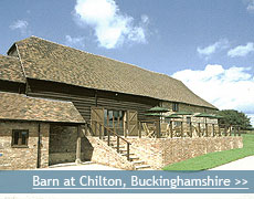 The Barn at Chilton wedding venue in Buckinghamshire
