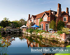 Boxted Hall wedding venue in Suffolk