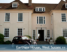 Eartham House wedding venue in Hertfordshire