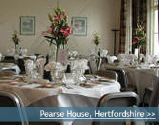 Pearse House wedding venue in Hertfordshire